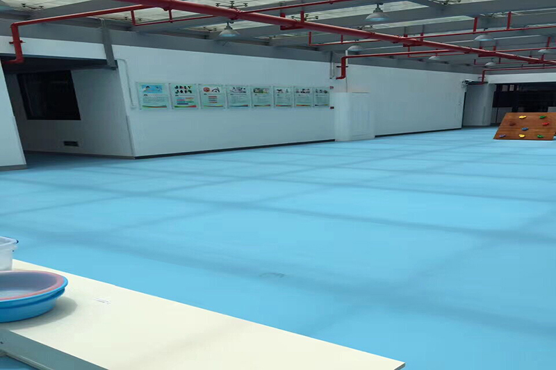 What are the characteristics of PVC flooring?