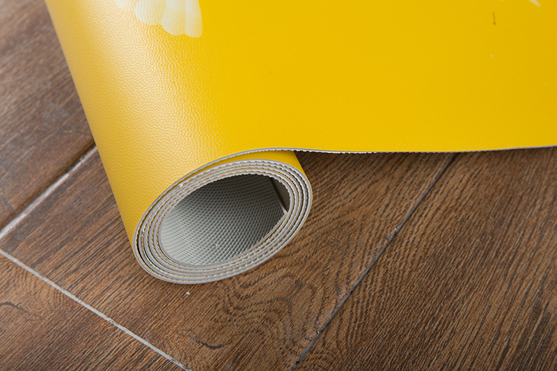 Yellow puppy  PVC Floor