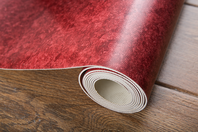 Thickened commercial anti-slip plastic floor-Red
