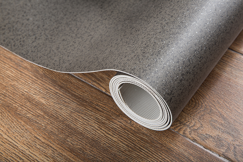 Coiled Wear-resistant PVC plastic floor