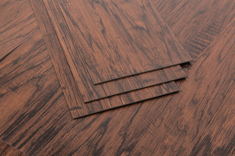 High gloss safety Wood color PVC Floor