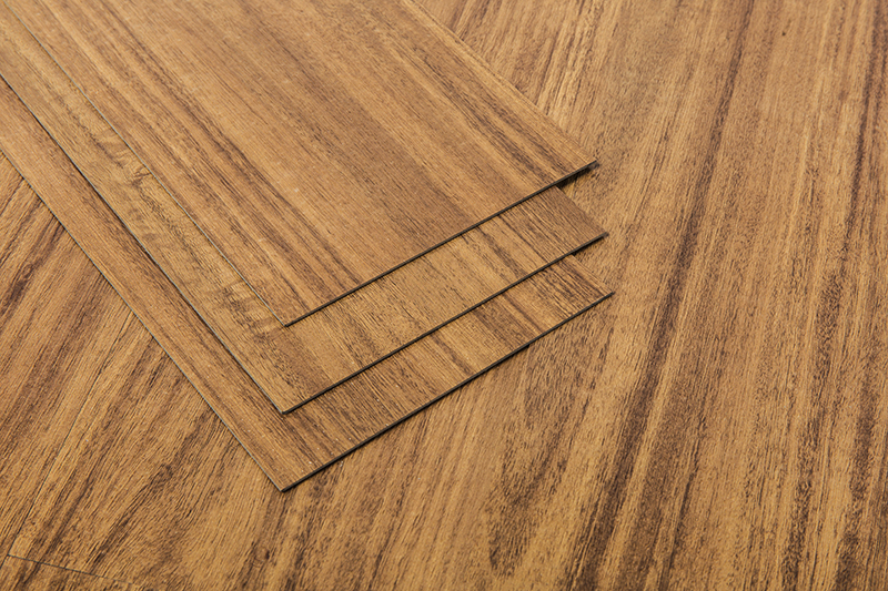 Customizable Thickness Household wood grain self-adhesive Pvc floor Tiles