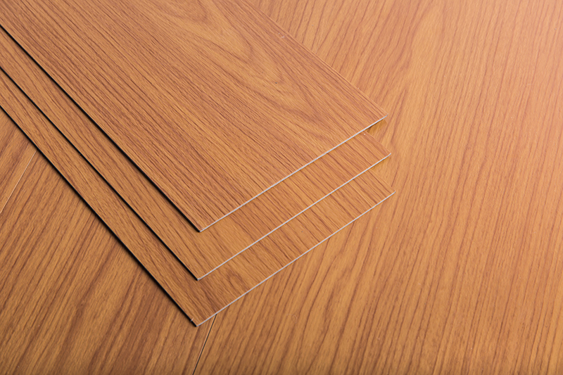 Household wood grain self-adhesive floor AYL-5-06