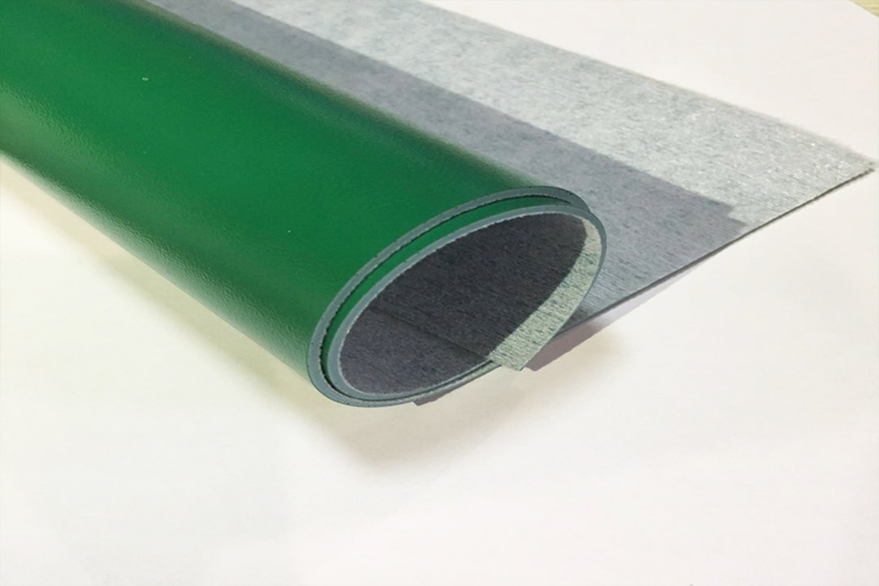 Blackish green  PVC Floor